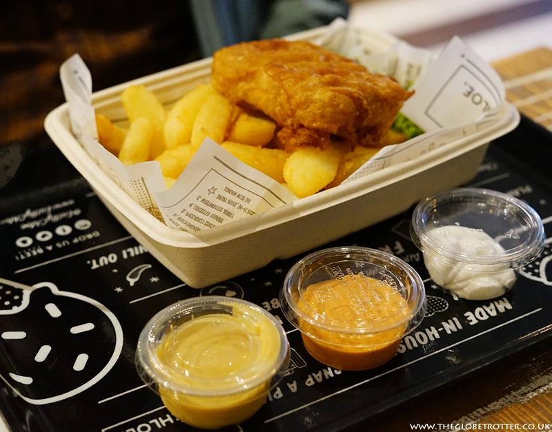 Fish'n'Chips at by CHLOE
