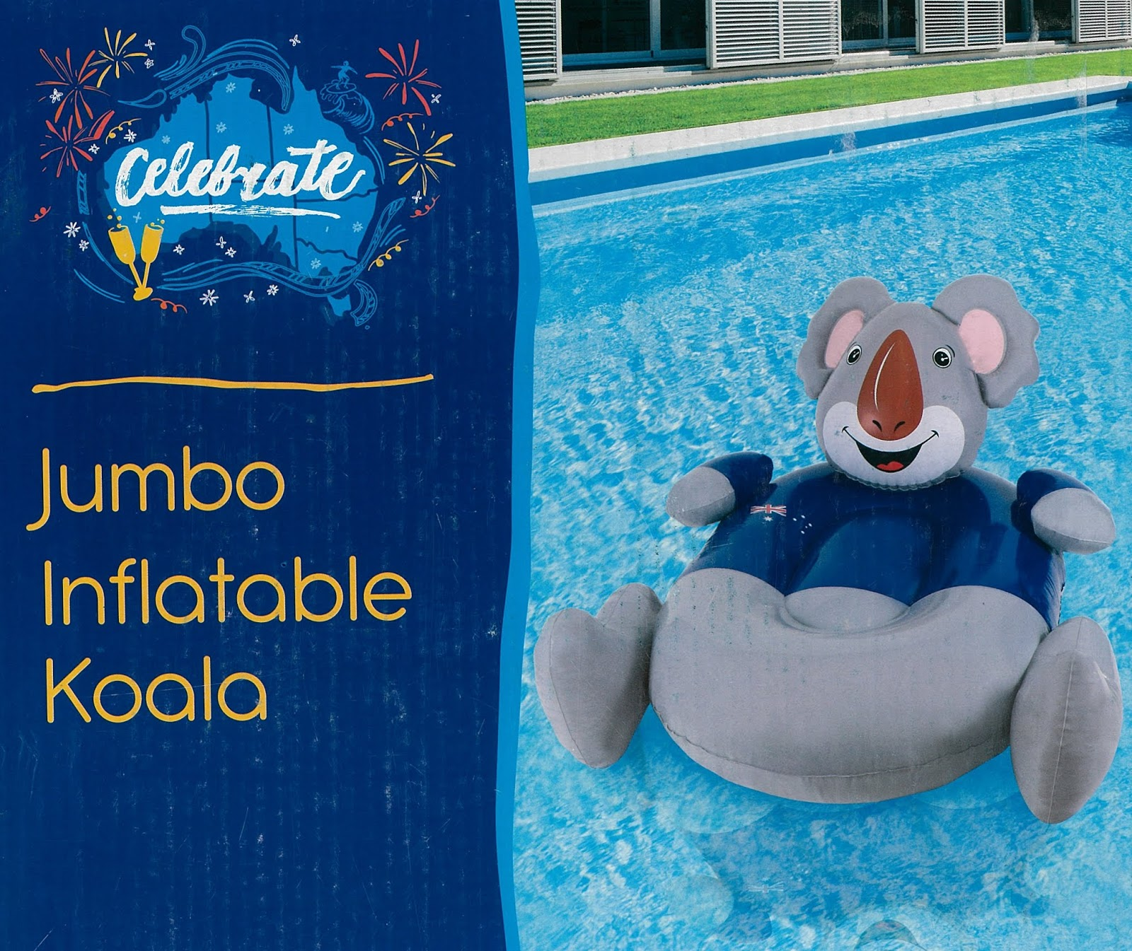 Aldi Intex Pool Australian Aldi Store Jumbo Inflatable Koala Animal Ride On Float