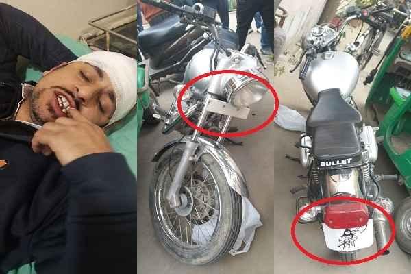 bullet-without-number-hit-car-driver-attack-car-driver-dushyant-1n-market