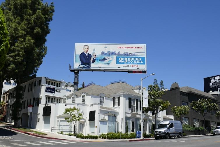 Jerry Seinfeld 23 Hrs to Kill billboard