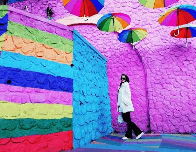 Lorong Payung Kampung Warna-Warni Jodipan