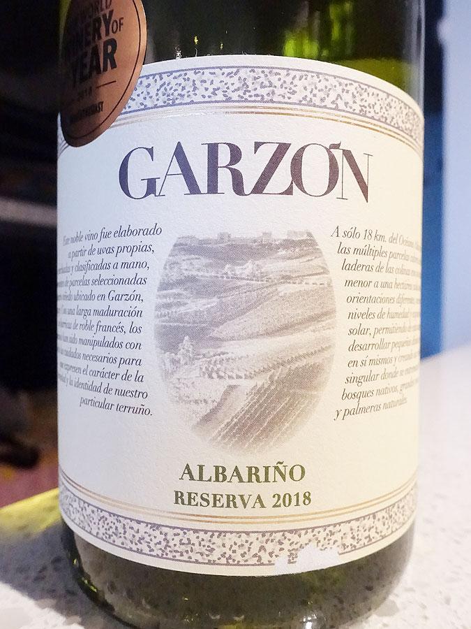 Bodega Garzón Reserva Albariño 2018 (90 pts)