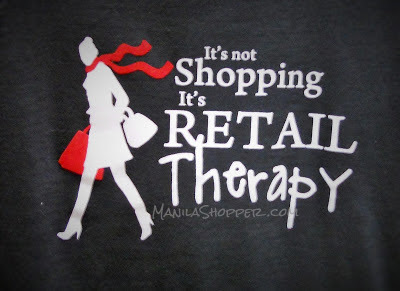 Manila Shopper: Guest Post: Is Retail Therapy Effective in Relieving