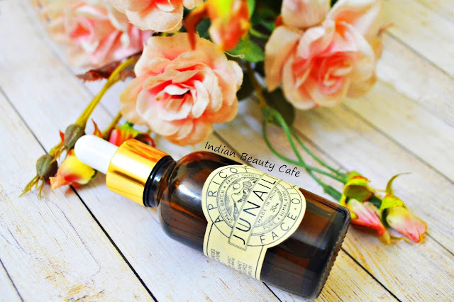 Junaili Apriicot Face Oil review