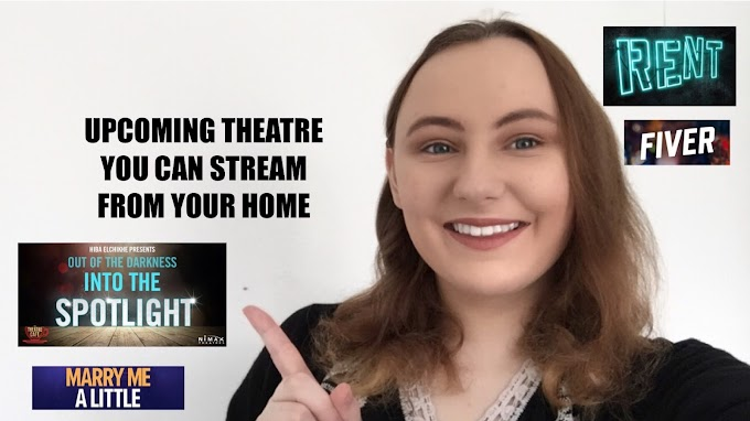 Upcoming Theatre You Can Stream From Your Home!