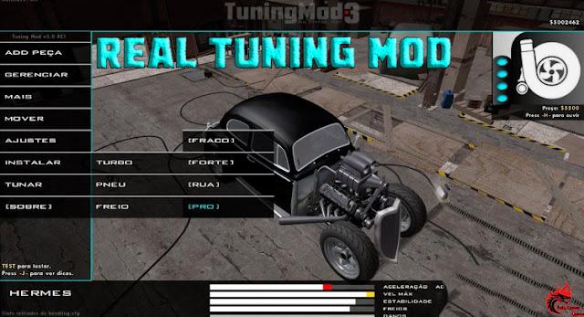 GTA San Andreas Real Tuning Mod Latest Version
