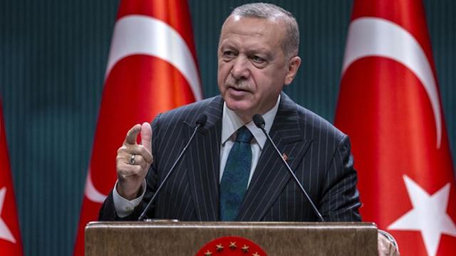 """Ερντογάν: Οι χώρες που επιτίθενται στο Ισλάμ θέλουν """"να αρχίσουν πάλι τις Σταυροφορίες"""""""