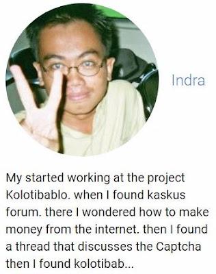 Testimony Kolotibablo Member dari Indonesia