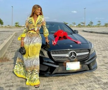 Celebrities React As Iyabo Ojo's 19-Year-Old Daughter Buys New Benz