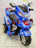 Motor Mainan Aki Pliko PK9818 Brigade Motor L Blue