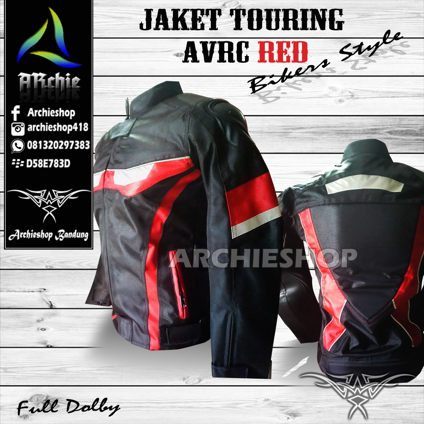 7100 Desain Jaket Motor Bandung HD