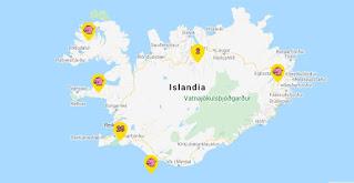 Supermercados Bonus en Islandia.