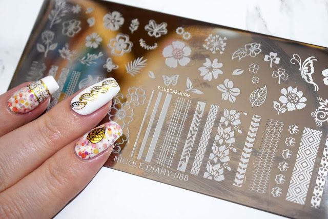 Born Pretty Store Nicole Diary 088 Stamping Plate