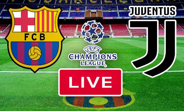 مشاهدة مباراة برشلونة و يوفنتوس فى دوري أبطال أوروبا