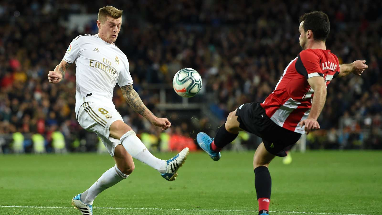 Real Madrid and Athletic Bilbao