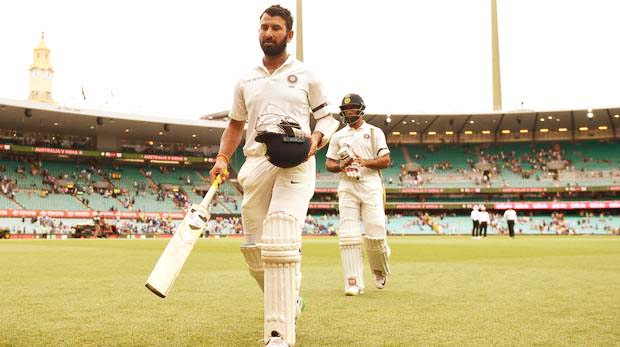 Gritty Pujara century puts India in control of Sydney Test