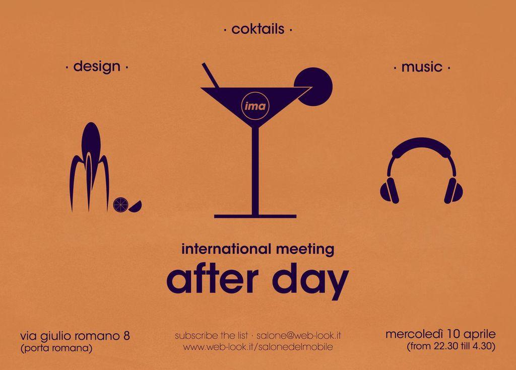 Milan Design Week 2013 - International Meeting After Day