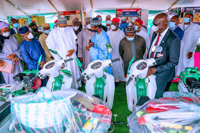 Photos from Launch of President Buhari's Youth Empowerment Scheme