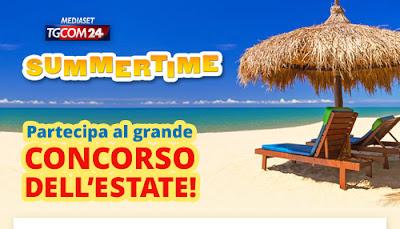 Logo Il Grande concorso dell'Estate Mediaset: partecipa gratis