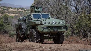 África Do Sul Envia Veículos Blindados Para Moçambique Para Ajudar No Combate A Grupos Armados