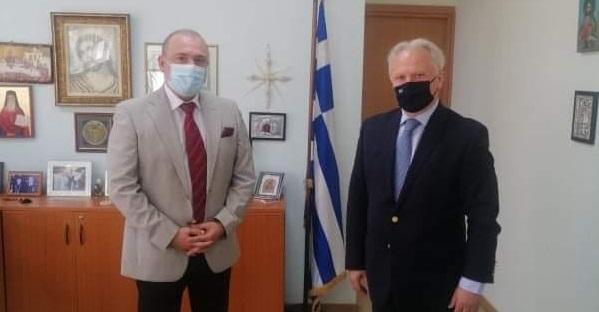 Επίσκεψη Ανδριανού στην Αστυνομική Διεύθυνση Αργολίδας