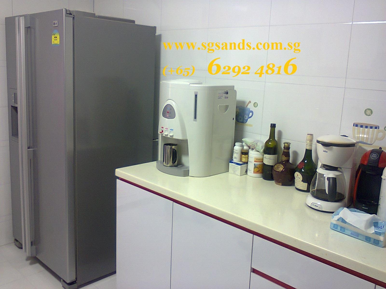 kitchen water dispenser island renovation singapore sg resource blog