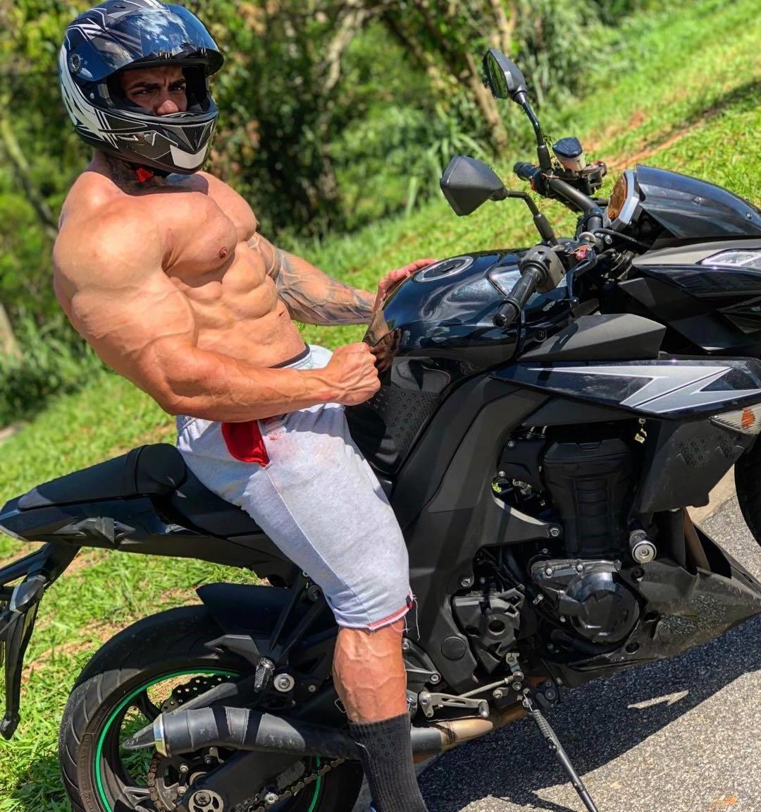huge-swole-muscular-man-motorcycle-strong-veiny-shirtless-body-straight-sexy-daddy