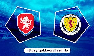 مشاهدة مباراة اسكتلندا ضد التشيك 14-06-2021 بث مباشر في بطولة اليورو