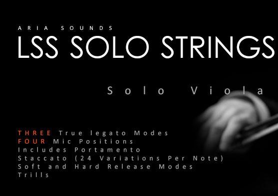 Aria Sounds LSS Solo Strings - Solo Viola ~ VST PEDIA