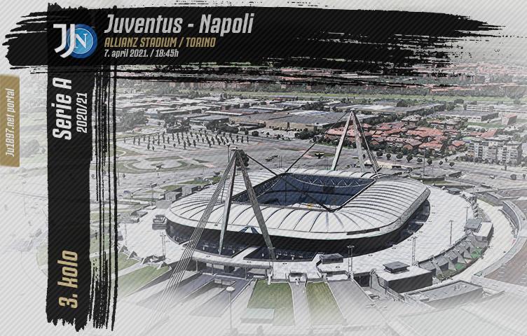 Serie A 2020/21 / 3. kolo / Juventus - Napoli, srijeda, 18:45h