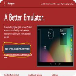 شغل نظام Android على الكمبيوتر بدون اي برامج عبر موقع Manymo مجاناً