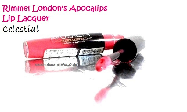 Rimmel London's Apocalips Lip Lacquer #Celestial