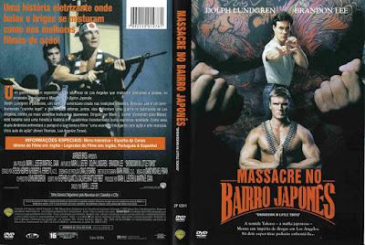 Filme Massacre no Bairro Japonês (Showdown In Little Tokyo) DVD Capa