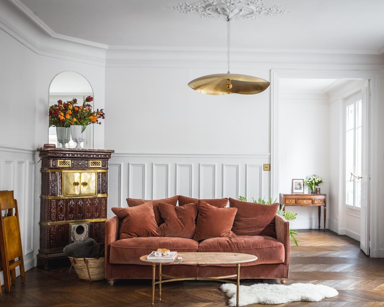 Chic and stylish Paris apartment