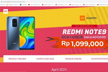Modus Penipuan Flash Sale Situs Xiaomi Palsu