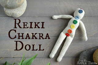 Crochet Reiki Doll by Over The Apple Tree