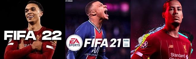 Comparison of FIFA 22 vs FIFA 21 vs FIFA 20