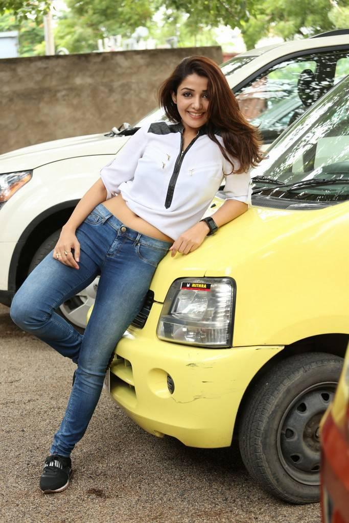 Sonia Mann At Dr Chakravarthy Movie Interview Stills