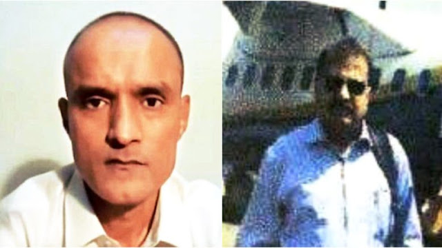 Image Attribute: (L) Commander Kulbhushan Sudhir Jadhav, Indian Navy and (R) Lt. Col. Muhammad Habib, Pakistan Army