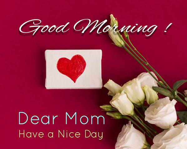 good morning dear mom