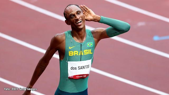 Tóquio 2020: Alison dos Santos é bronze no Atletismo