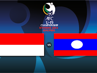 Indonesia vs Laos Kualifikasi AFC U19 2014