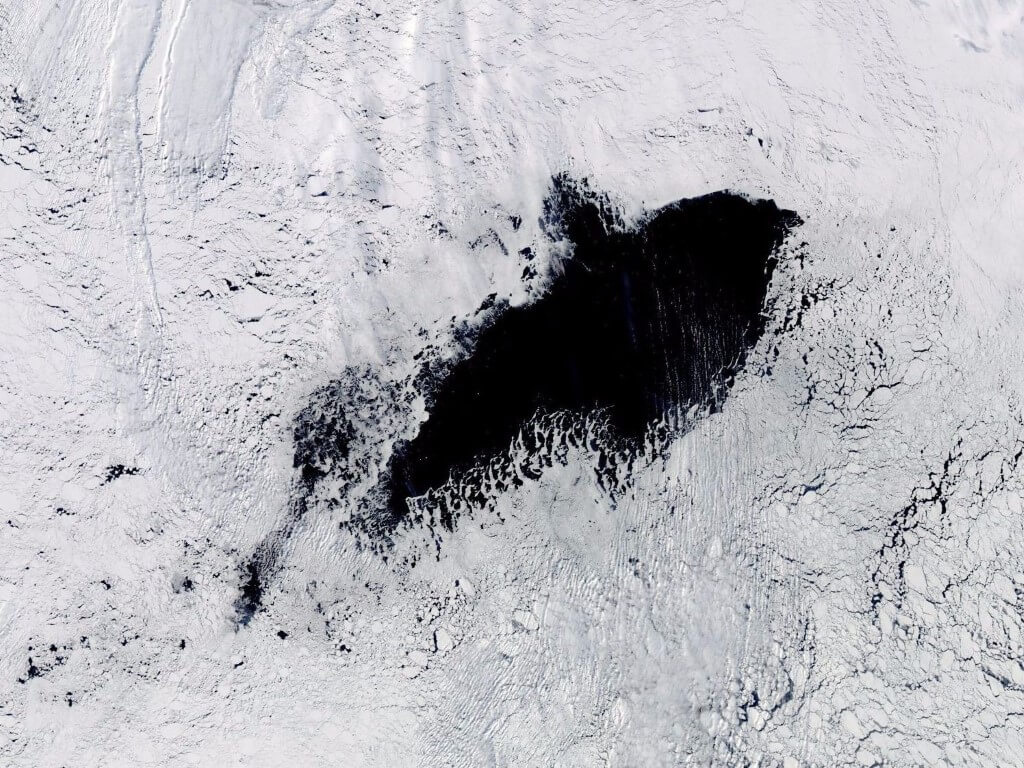A Gigantic Hole Has Opened Up In Antarctica - Scientists Are Racing To Discover What Caused It