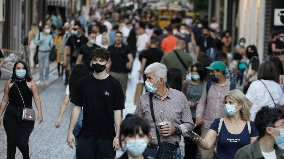 Έρχεται η κατάργηση της μάσκας για τους εξωτερικούς χώρους