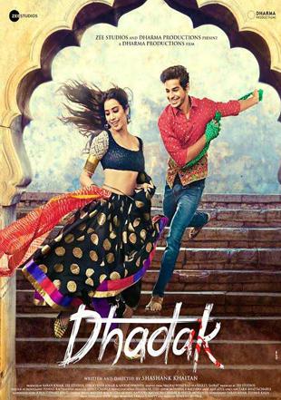 Dhadak 2018 Full Hindi Movie Download HDTV 720p