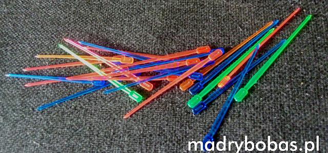 zabawki DIY wykałaczki do koreczków