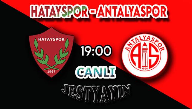 Hatayspor - Antalyaspor canlı maç izle