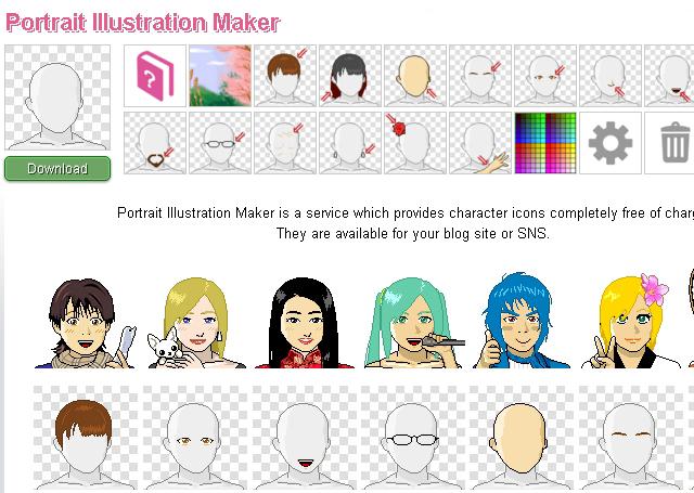 Portrait Ilustration Maker - Solo Nuevas