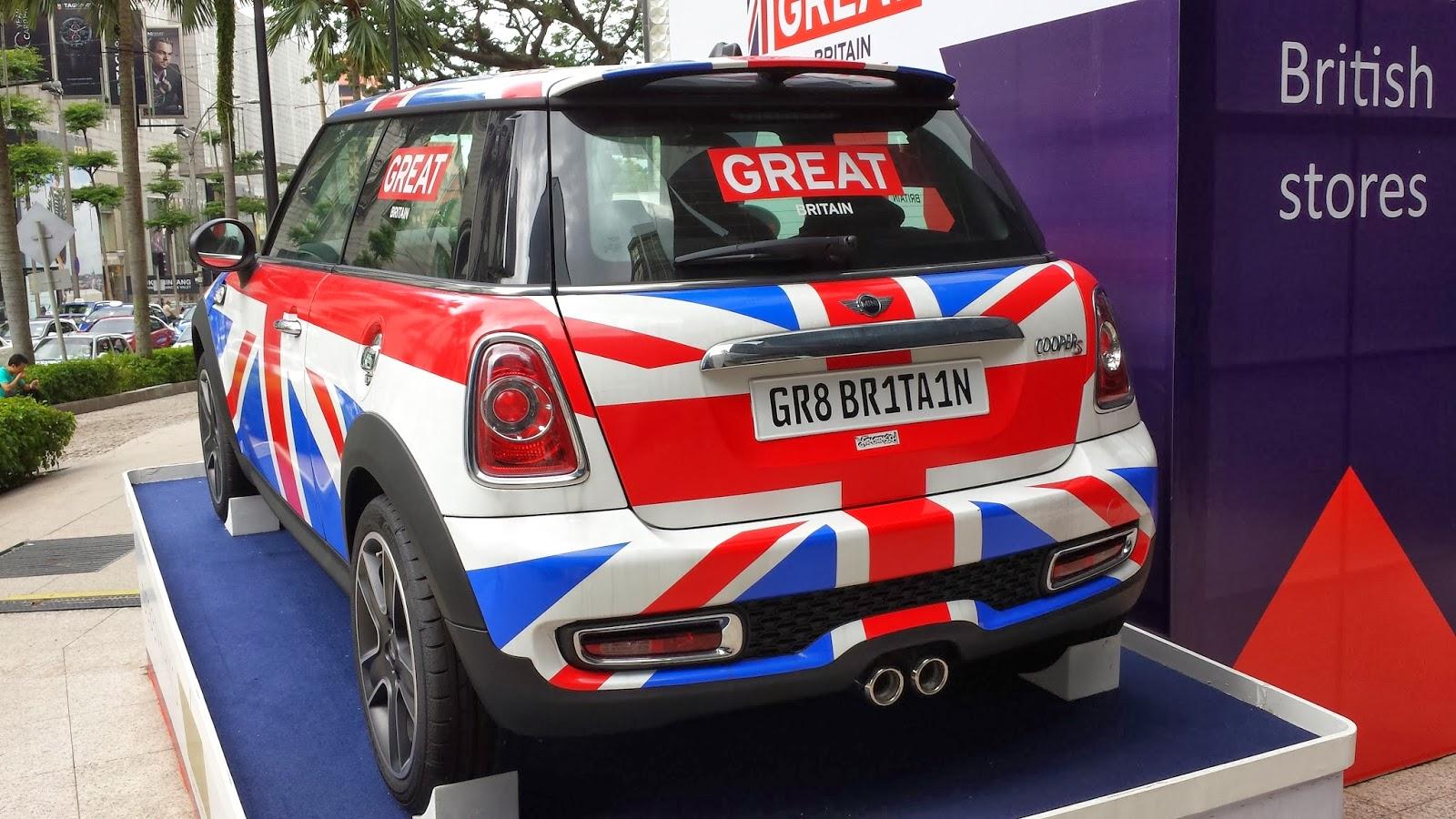 The Layman Auto The Union Jack Mini