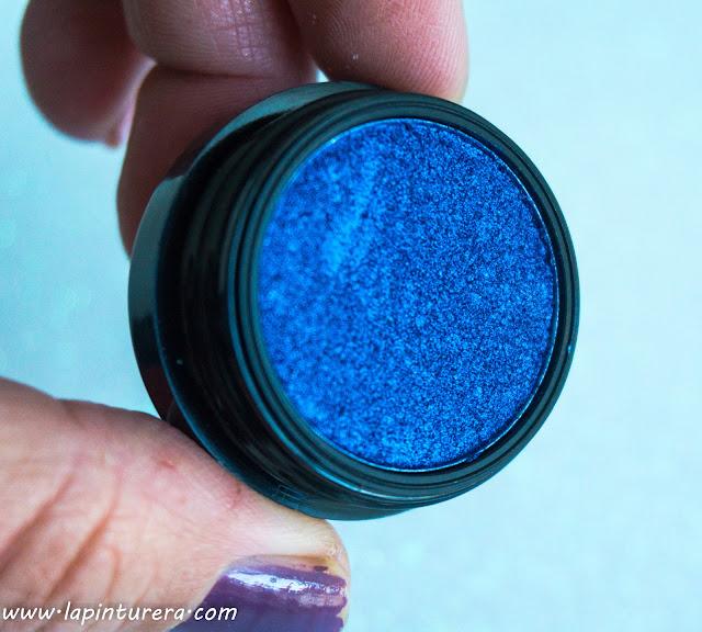 sombra azul